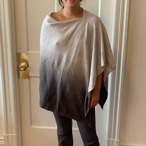 NWT Newman Marcus Cashmere poncho